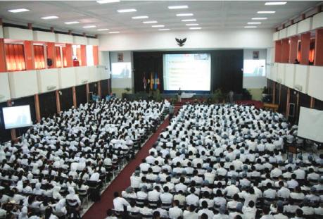 1718 Mahasiswa Baru  di terima Universitas  Widyatama