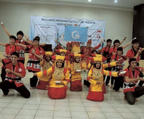 Prodi Bahasa Jepang Festival Widyatama 2014