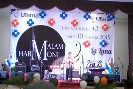 Malam bertabur Harmoni di Universitas Widyatama