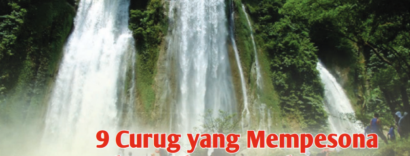 9 Curug yang Mempesona di Bandung dan Sekitarnya
