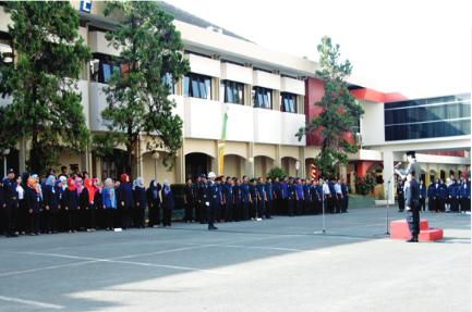 HUT RI di Institusi pendidikan Widyatama