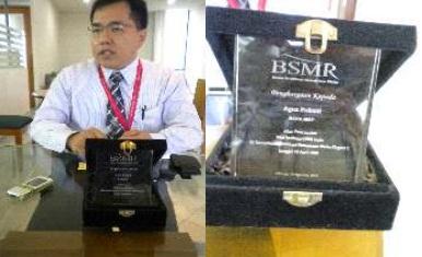 Bincang-bincang dengan penerima penghargaan BMSR