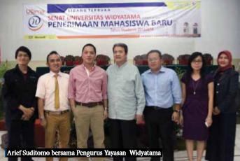 PPU Widyatama Bersama Arief Suditomo