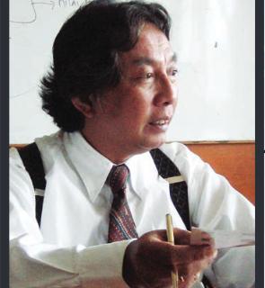 Wawancara Drs. Indarsyah T , tentang Desain Komunikasi Visual
