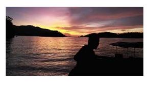 Menanti Senja di Kaimana