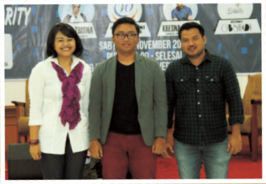 Talkshow Entrepreuners, Entertain and Charity